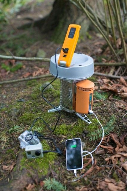 Water-Powered Gadget Chargers