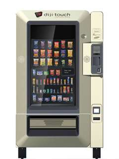 Cashless Robotic Retailers
