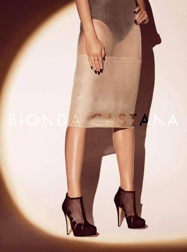Femme Fatale Footwear Ads