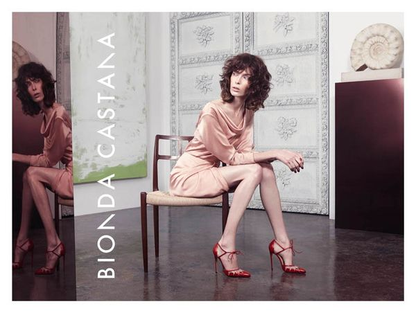 Chicly Composed Footwear Ads