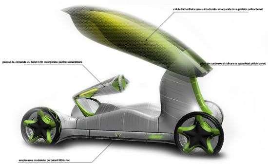 Crocus-Inspired Vehicles
