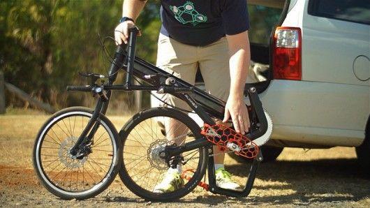 Running-Replicating Bicycles