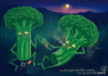 Druggie Veggie Ads