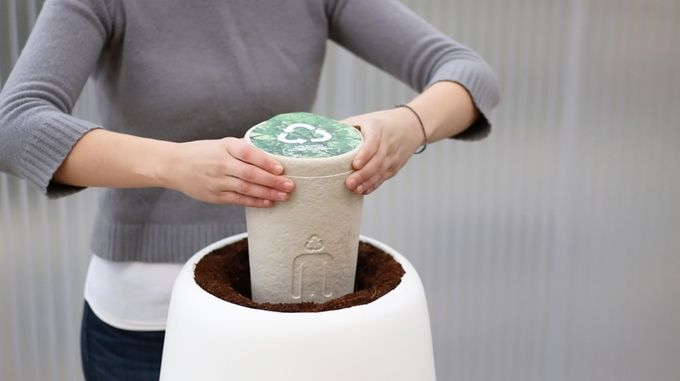 Sustainable Urn Planters