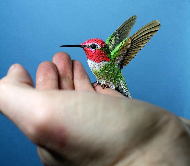 Intricate Avian Art