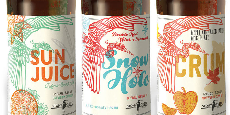 Bird-Adorned Beer Labels