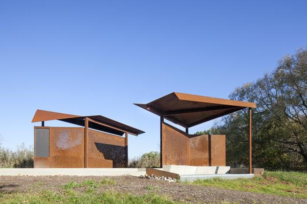 Bird-Watching Pavilions