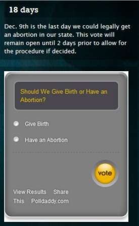 Crowdsourced Abortions