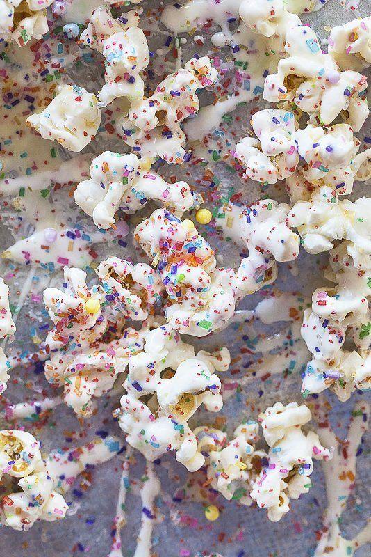 Sprinkled Cinema Snacks