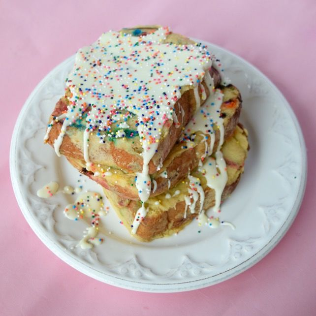 Cake Batter French Toast