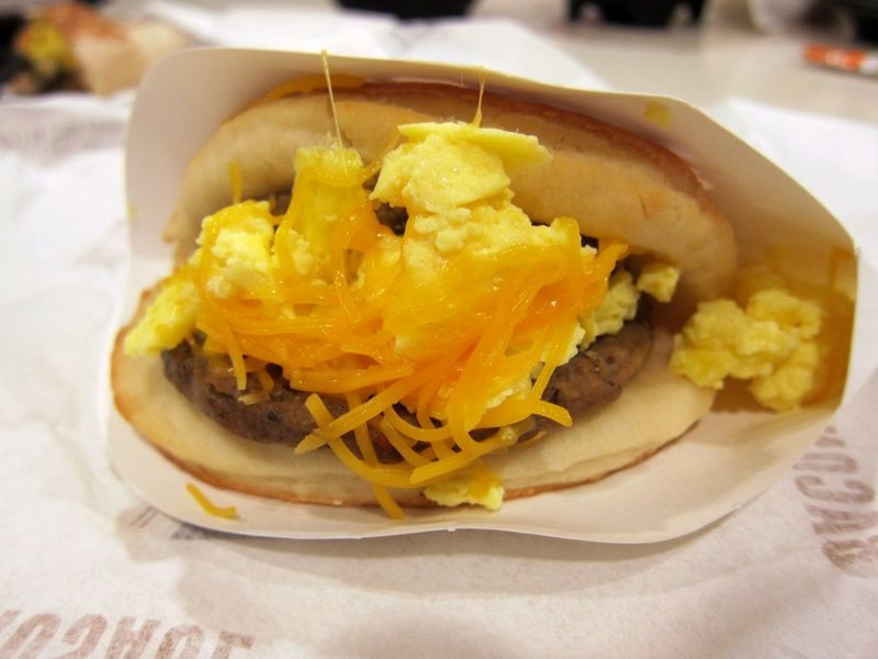 Breakfast Biscuit Tacos