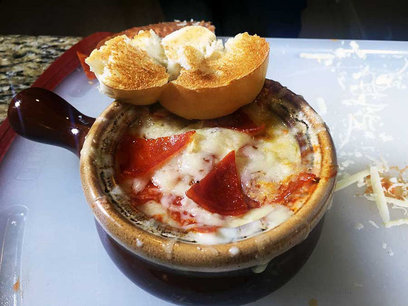 Savory Pizza Soups