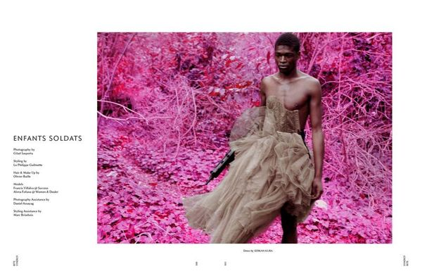 Child Soldier-Inspired Editorials