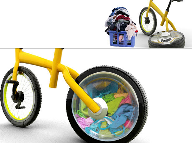 Bizarre Washing Machine Bikes