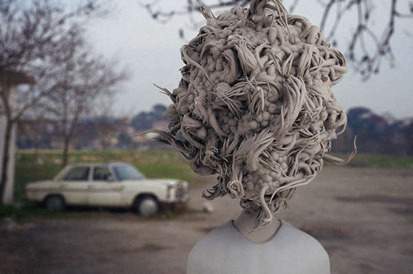 Peculiar Abstract Human Art