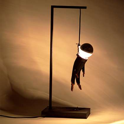 Morbid light fixtures enpieza 39 s colgao lamp for A lamp and fixture