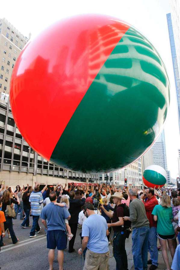 36 Foot Urban Beach Balls