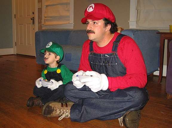 Dressing As Video Game Heroes