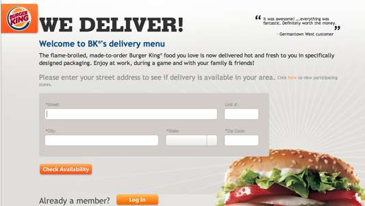 Fast Food Deliveries