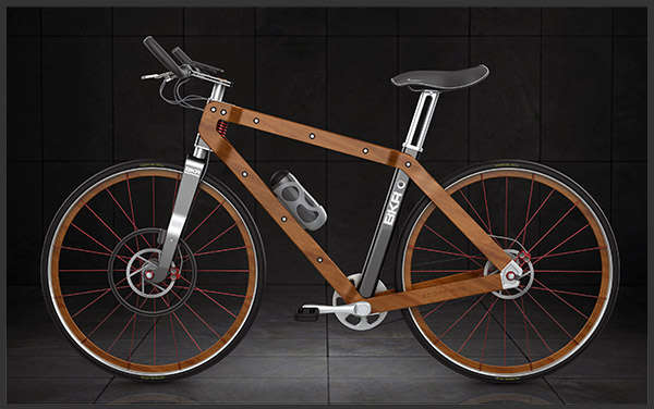 Elegant Lumber Bicycles