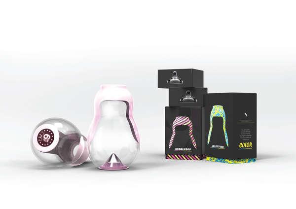 Portable Formula Mixers Bla Baby Bottle