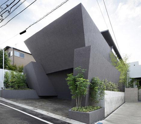 Black Angular Homes