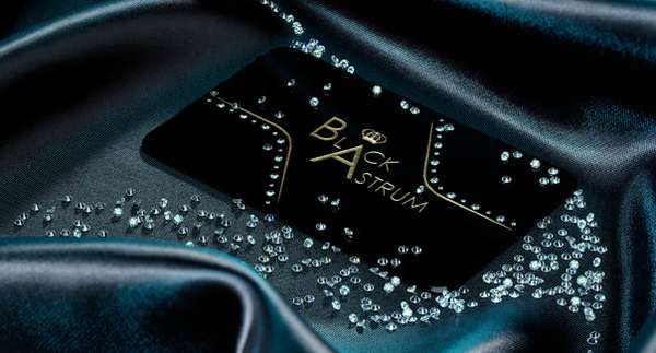Diamond-Encrusted Calling Cards