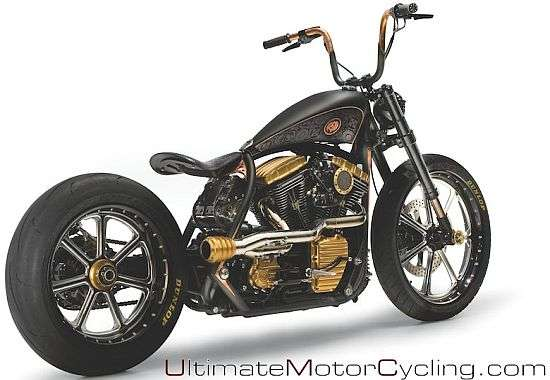 Black Beauty Custom Cycle