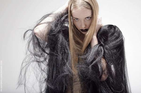 Unisex Hairy Neckwear