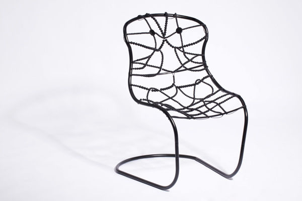 Delicately Beaded Chairs
