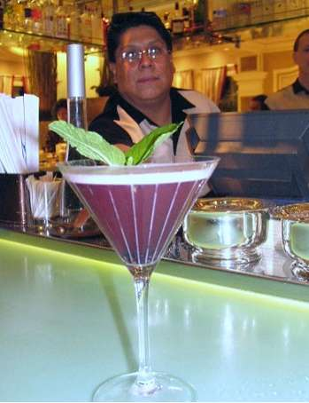 Black Crush Cocktail At Bellagio Las Vegas