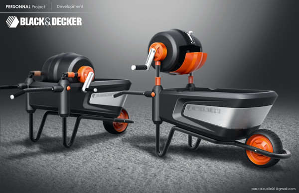 Black & Decker Cement Mixer