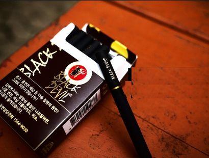 Coffee-Flavored Cigarettes : Black Devil