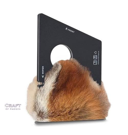 Fur-Coated Ice Scrapers