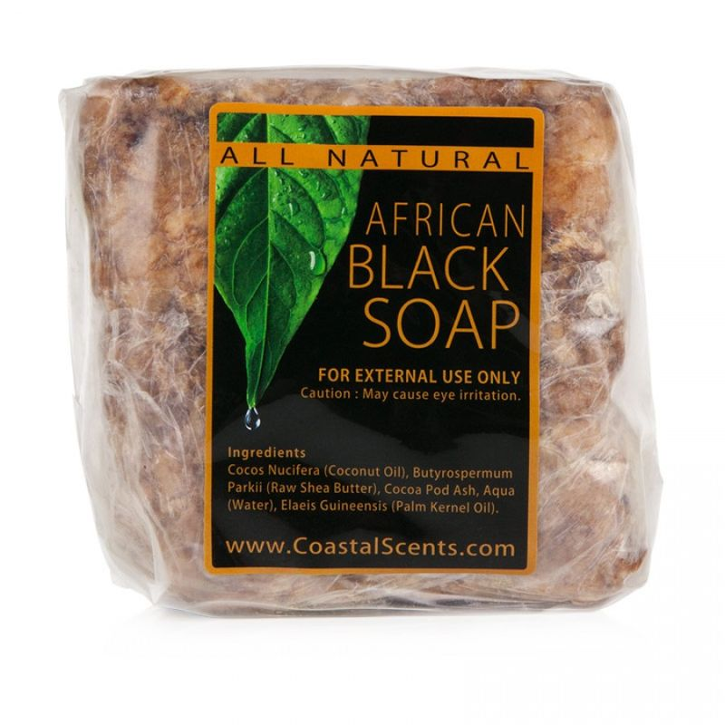 What is black african soap good for