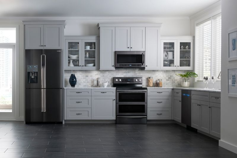 Chic Family Friendly Appliances Black Stainless Steel