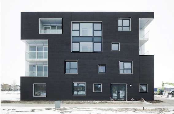 Erratically Arranged Windows