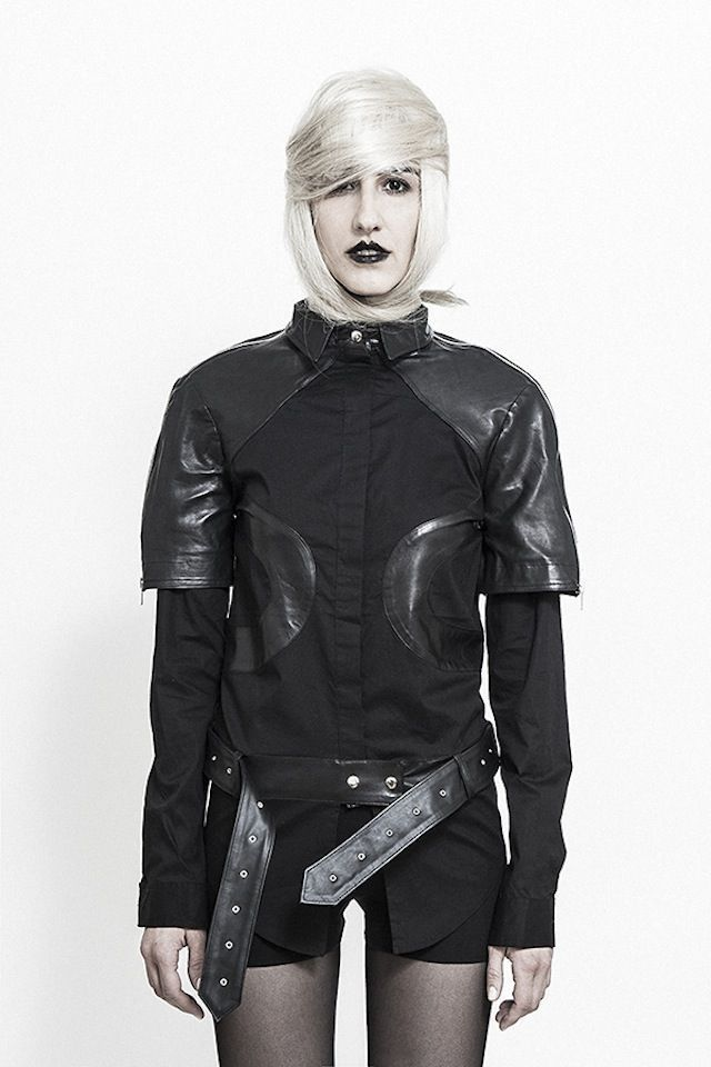 Futuristic Goth Lookbooks