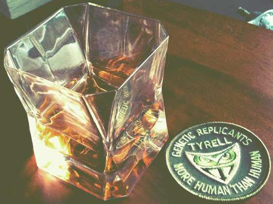 Sci Fi Boozy Glass Beakers Blade Runner Whisky Tumbler