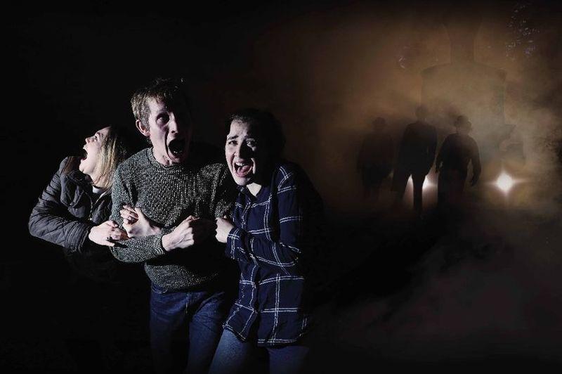 Horror Film-Themed Mazes