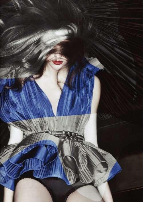 Color-Striped Fashiontography