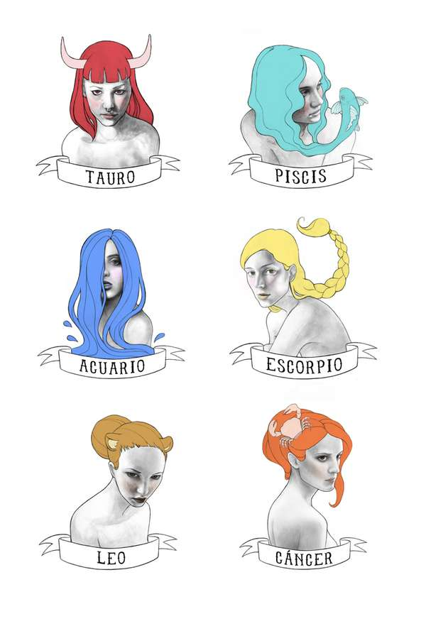 Female Zodiac Incarnations