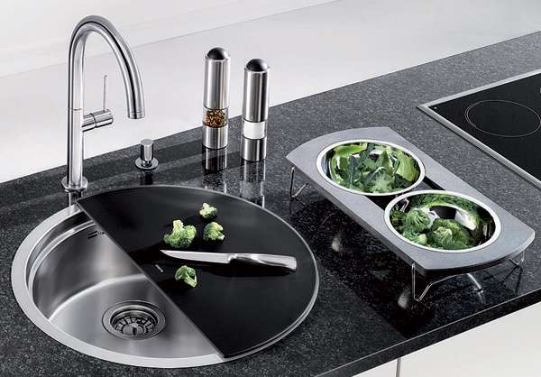 Cutting Board Basins BLANCORONIS Kitchen Sink