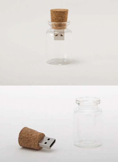 Corked Flash Drives