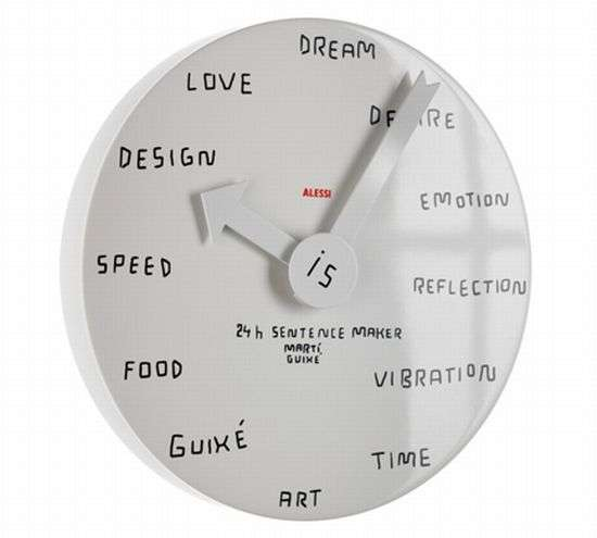 Blank Wall Clock