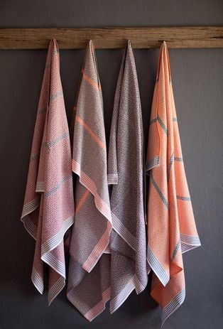 Patterned Historic Towels