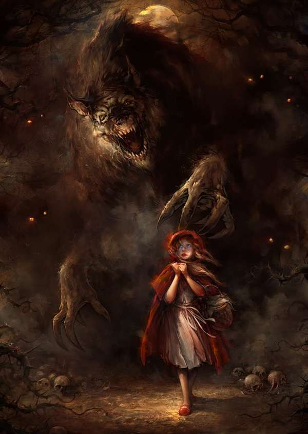 Frightful Fantasy Art