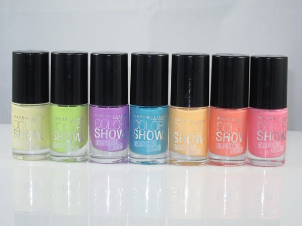 80s-Inspired Nail Polishes