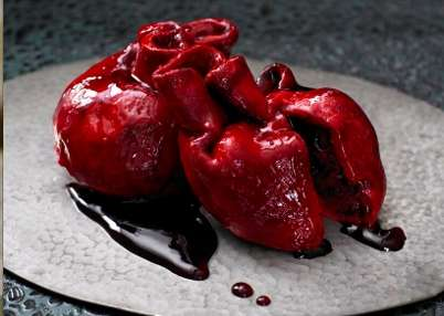 Bleeding Heart Cake