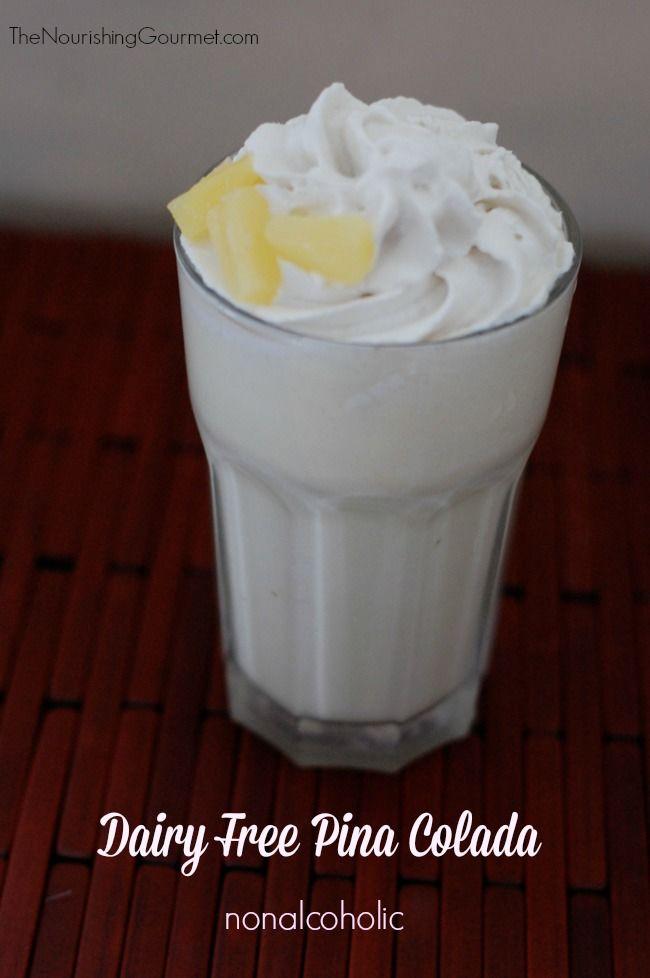 Dairy-Free Pina Coladas